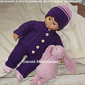 Работы для детей, handmade. Livemaster - original item set Magic Color blouse pants and hat. Handmade.
