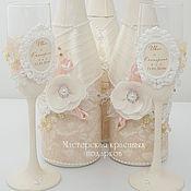Свадебный салон ручной работы. Ярмарка Мастеров - ручная работа Свадебное набор ``Магия эйвори``. Handmade.