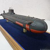 Статуэтки ручной работы. Ярмарка Мастеров - ручная работа Проект 941 Тайфун- Акула 25 см и 45 см. Handmade.