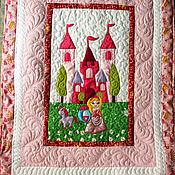 """Для дома и интерьера ручной работы. Ярмарка Мастеров - ручная работа Одеяло """"Принцесса Аврора"""". Handmade."""