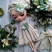 Куклы и игрушки ручной работы. Ярмарка Мастеров - ручная работа Платье с цветком для Блайз. Handmade.