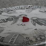 """Посуда ручной работы. Ярмарка Мастеров - ручная работа Тарелка декоративная """"Черно-белое кино"""". Handmade."""