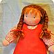 Вальдорфская игрушка ручной работы. Вальдорфская кукла-девочка 30-35 см. Alla  (Waldorf doll&toy). Интернет-магазин Ярмарка Мастеров.