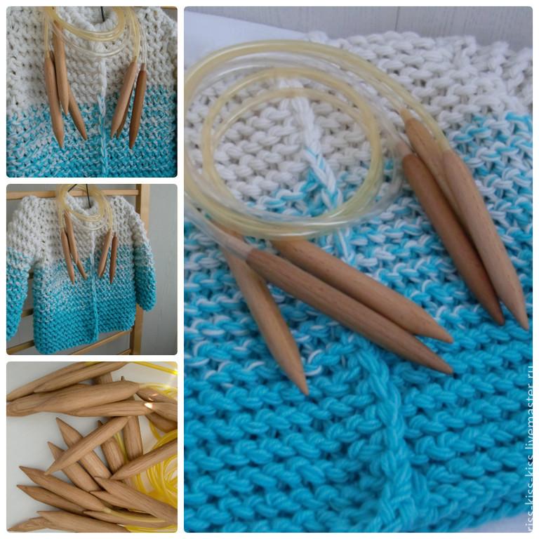 Спицы для вязание сделать самим