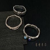 Украшения handmade. Livemaster - original item Set of silver topaz rings. Handmade.