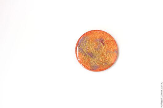Для украшений ручной работы. Ярмарка Мастеров - ручная работа. Купить Кабошон акриловый 30мм (№8). Handmade. Материалы для творчества