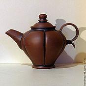 """Посуда ручной работы. Ярмарка Мастеров - ручная работа чайник ручной работы """"файф-о-клок 1"""". Handmade."""