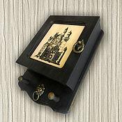 Для дома и интерьера ручной работы. Ярмарка Мастеров - ручная работа Ключница Старый замок, ключница шкафчик.. Handmade.