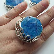 Украшения handmade. Livemaster - original item Large azurite jewelry set. Handmade.