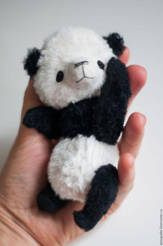 Мишка тедди Панда, ручной медвежонок,который приносит искренние улыбки и неподдельную радость! Мишка тедди от Анны Палто, Ярмарка мастеров
