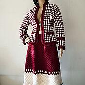 Одежда handmade. Livemaster - original item Handmade Tweed suit. Hook, cotton.. Handmade.