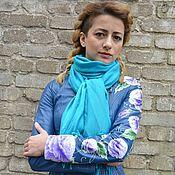 "Одежда handmade. Livemaster - original item Painted leather jackets ""Roses"". Handmade."