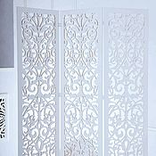 Для дома и интерьера handmade. Livemaster - original item Screen carved. Handmade.