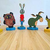 Игровые наборы ручной работы. Ярмарка Мастеров - ручная работа Персонажи мультфильма про Винни-Пуха. Handmade.