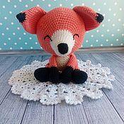 Stuffed Toys handmade. Livemaster - original item Soft knitted toy Red Fox. Handmade.