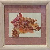 Картины и панно ручной работы. Ярмарка Мастеров - ручная работа совиная почта. Handmade.