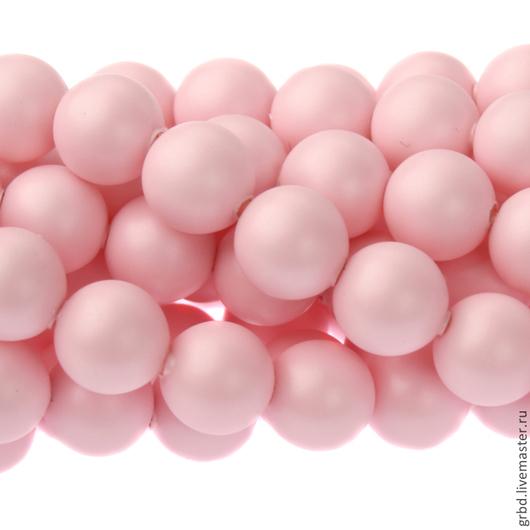 Для украшений ручной работы. Ярмарка Мастеров - ручная работа. Купить Жемчуг Сваровски 5 мм 5810 Pastel Rose (05-944). Handmade.