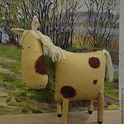 Куклы и игрушки ручной работы. Ярмарка Мастеров - ручная работа Белогривая лошадка. Handmade.