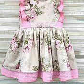 Платья ручной работы. Ярмарка Мастеров - ручная работа Платье из нежнейшего хлопка. Handmade.