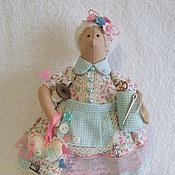 Куклы и игрушки ручной работы. Ярмарка Мастеров - ручная работа Тильда толстушка швейный ангел. Handmade.