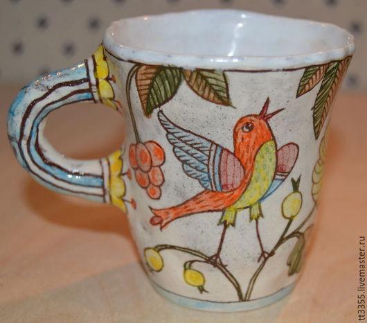 Кружки и чашки ручной работы. Ярмарка Мастеров - ручная работа. Купить кружка ручной работы handmade cup. Handmade. Лимонный