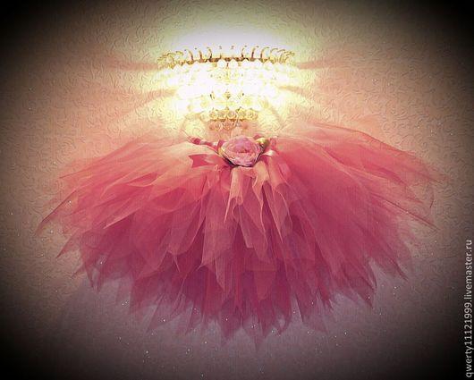 """Детские карнавальные костюмы ручной работы. Ярмарка Мастеров - ручная работа. Купить Комплект """"Цветочная фея"""" юбка из фатина и аксессуары. Handmade."""