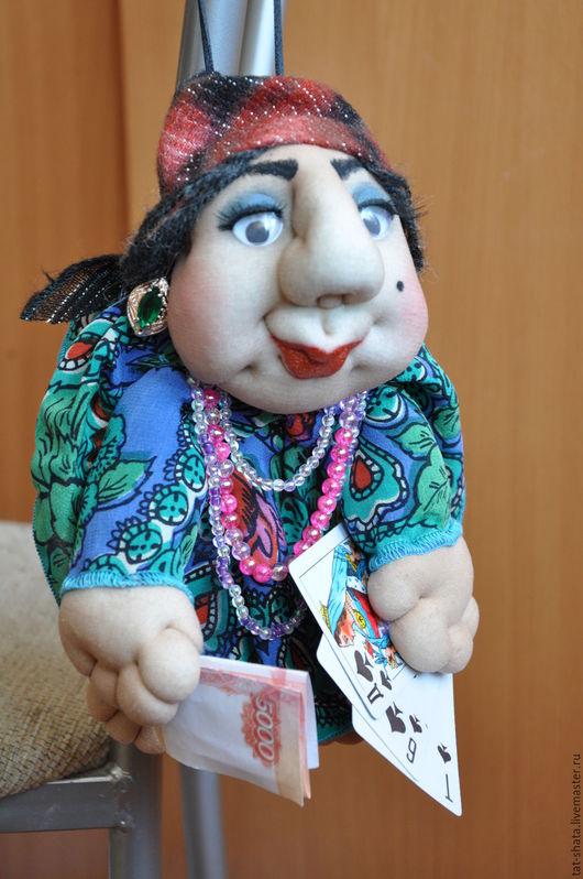 Человечки ручной работы. Ярмарка Мастеров - ручная работа. Купить чулочная кукла -попик. Handmade. Комбинированный, кукла - подвеска