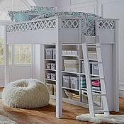 Для дома и интерьера ручной работы. Ярмарка Мастеров - ручная работа Кроватка с системой хранения. Handmade.