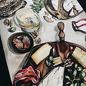 Картины и панно ручной работы. Ярмарка Мастеров - ручная работа French morning. Handmade.