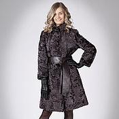 Одежда handmade. Livemaster - original item Coat of Broadtail