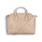 Сумки и аксессуары handmade. Livemaster - original item Bag made of Python skin GENEVE. Handmade.