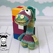 Куклы и игрушки handmade. Livemaster - original item Toy dinosaur mixed. Handmade.