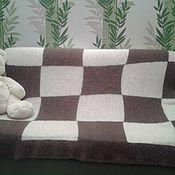 Для дома и интерьера ручной работы. Ярмарка Мастеров - ручная работа Пуховый плед. Handmade.