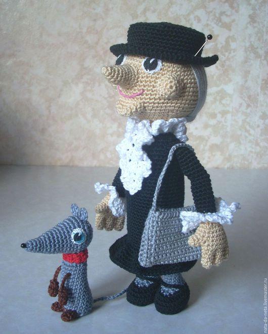 Человечки ручной работы. Ярмарка Мастеров - ручная работа. Купить Старушка-Хулиганка и её подружка.Кукла вязаная игровая. Handmade.