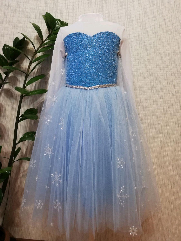 Платье Эльзы, Платья, Санкт-Петербург,  Фото №1