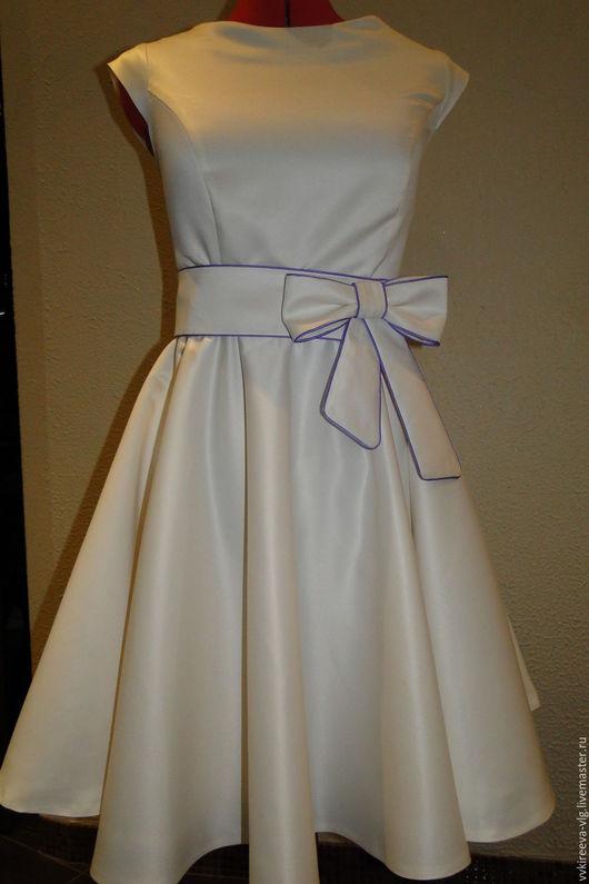 Платья ручной работы. Ярмарка Мастеров - ручная работа. Купить Свадебное платье. Handmade. Белый, кружево для отделки