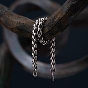 "Украшения handmade. Livemaster - original item Handmade silver bracelet ""Scales"". Handmade."