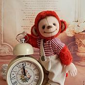 Куклы и игрушки ручной работы. Ярмарка Мастеров - ручная работа КРАСНАЯ ОБЕЗЬЯНКА. Handmade.