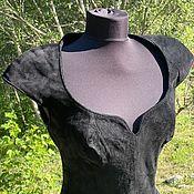 Винтаж handmade. Livemaster - original item Stylish dress by Firenze Santa Barbara, USA 1980.. Handmade.