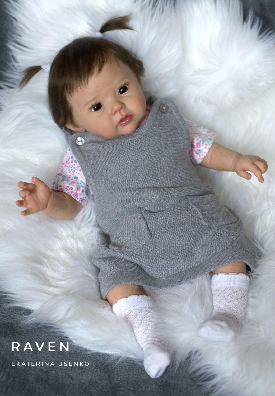 Малышка Raven-5 от Ping Lau, Куклы Reborn, Калуга,  Фото №1