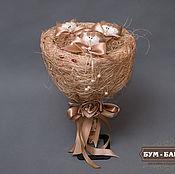 """Цветы и флористика ручной работы. Ярмарка Мастеров - ручная работа """"Усипуськовый"""" Букет Котят. Handmade."""