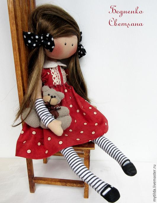 Куклы тыквоголовки ручной работы. Ярмарка Мастеров - ручная работа. Купить Малышка Горошинка. Handmade. Кукла ручной работы, горошина