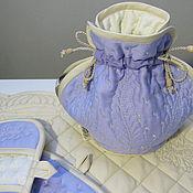 Посуда handmade. Livemaster - original item warmer on the kettle and pot holders. Handmade.