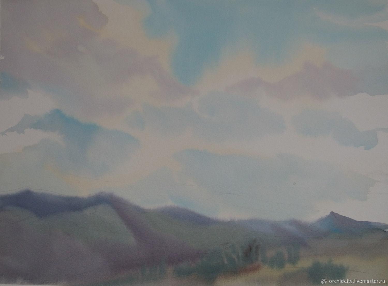 Небесный пейзаж, Картины, Мытищи,  Фото №1