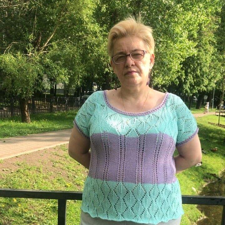 Ажурный летний  топ, Топы, Москва,  Фото №1