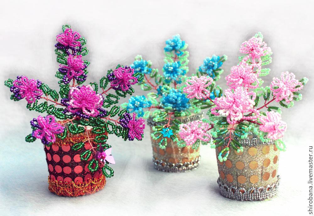 Цветы Из Бисера Для Начинающих - YouTube