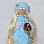 Куклы и игрушки ручной работы. Ярмарка Мастеров - ручная работа Ангелина с лошадкой. Handmade.