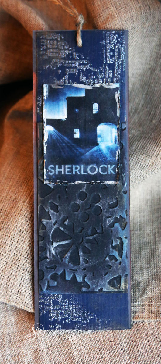 """Закладки для книг ручной работы. Ярмарка Мастеров - ручная работа. Купить Закладка из коллекции """"Шерлок и Лондон"""" (№ 2). Handmade."""
