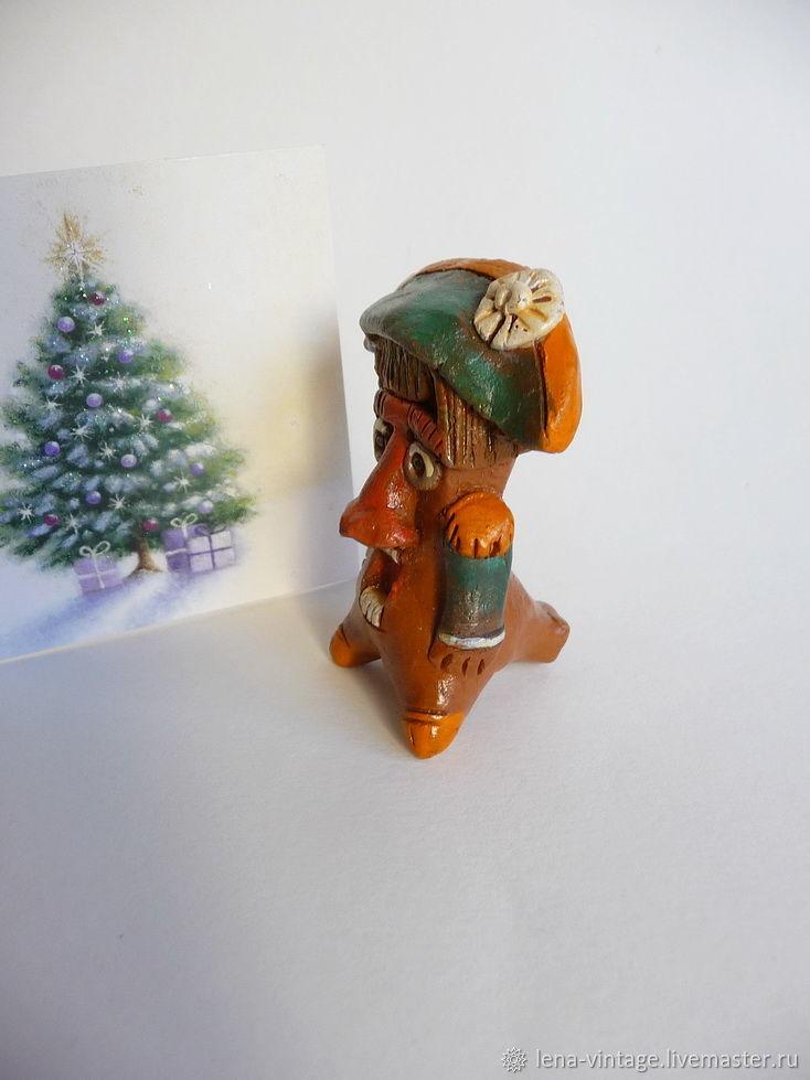 faaff8e947c1 Винтаж  Щелкунчик. Винтажная авторская игрушка-свистулька, керамика ...