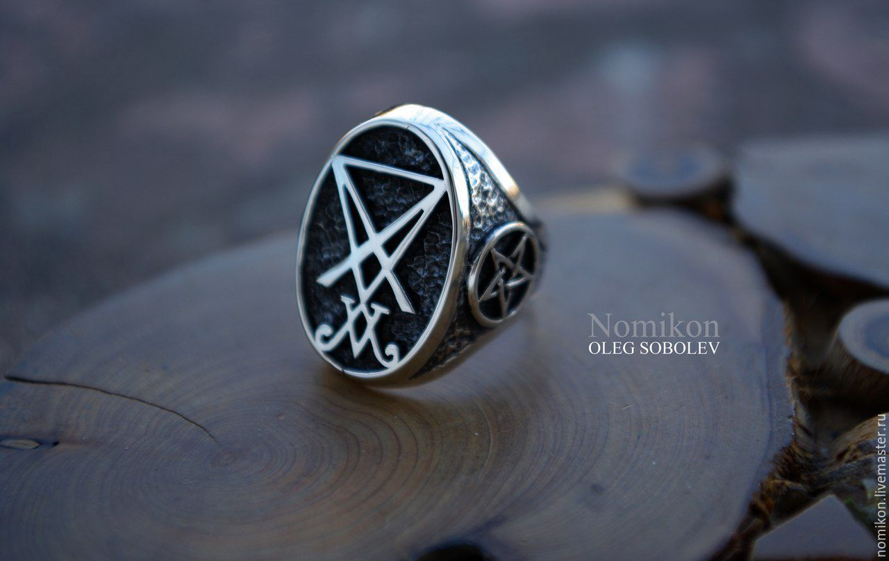 Ring 'Sigil Of Lucifer', Ring, St. Petersburg,  Фото №1